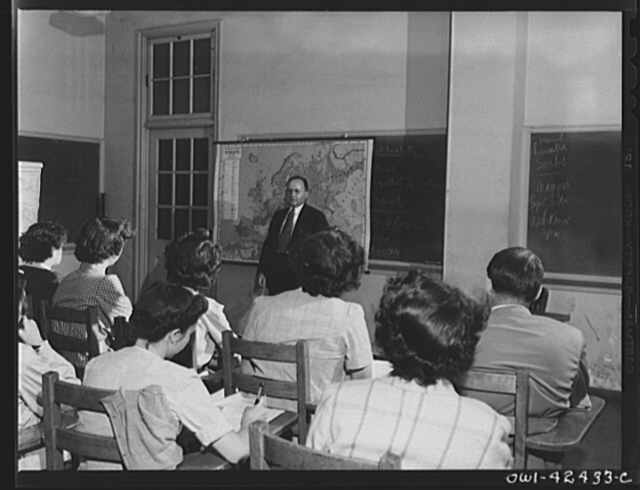 United Nations Relief and Rehabilitation Administration training center, University of Maryland, College Park, Maryland. Visiting instructors who are regarded as authorities in their respective fields, as well as members of the staff of United Nations Relief and Rehabilitation Administration itself are called upon to instruct appointees
