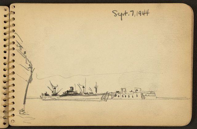 [View of ships in harbor]