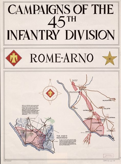 Campaigns of the 45th Infantry Division : [Europe].
