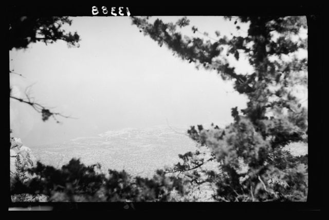 Cyprus. Kyoenia. Looking from St. Hilarion Castle