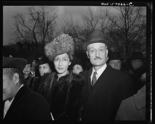 French Ambassador Henri Bonnet on the South Lawn of the White House