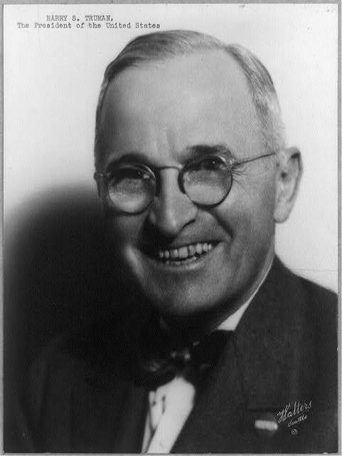Harry S. Truman, the President of the United States / Walters, Seattle.