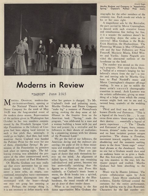 Moderns in Review