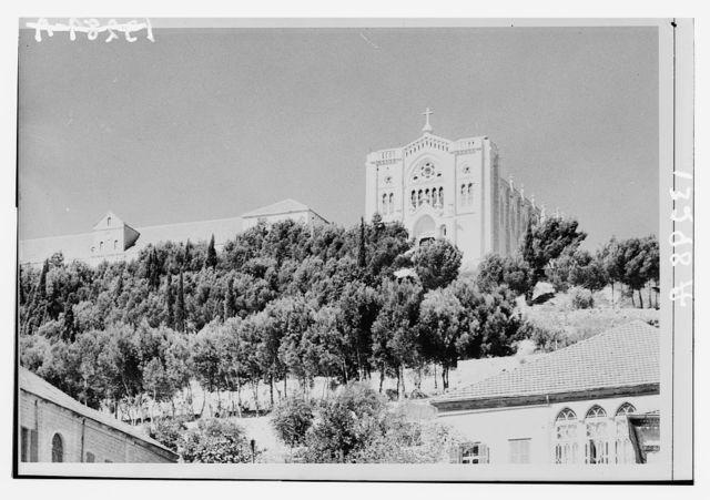 Nazareth, Ch. [i.e., Church] of the Adolescence