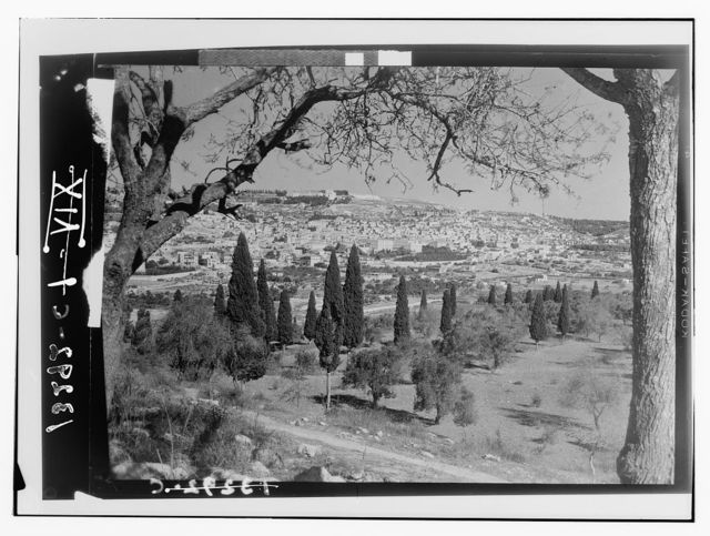 Nazareth. General view from the east