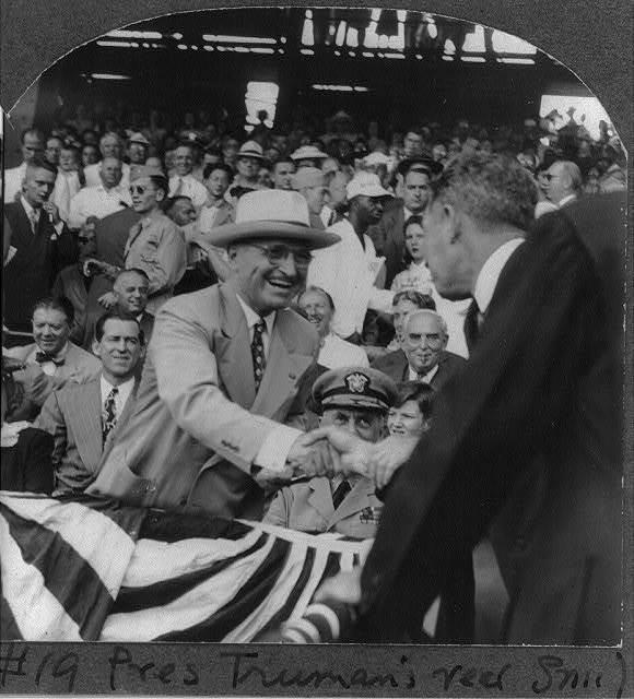Pres. Truman's real smile