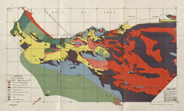 Report on general survey of British Somaliland 1944 (Colonial development & welfare act. Economic survey & reconnaissance), Published under the authority of the Military government, Somaliland protectorate, 19th May 1945...