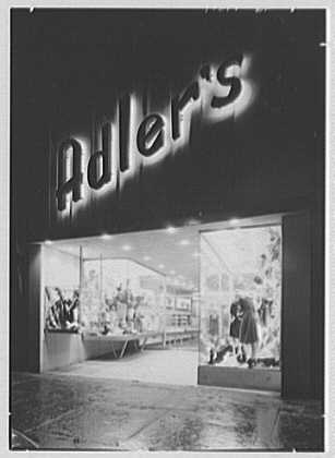 Adler's, business at 990 Flatbush Ave., Brooklyn, New York. Exterior