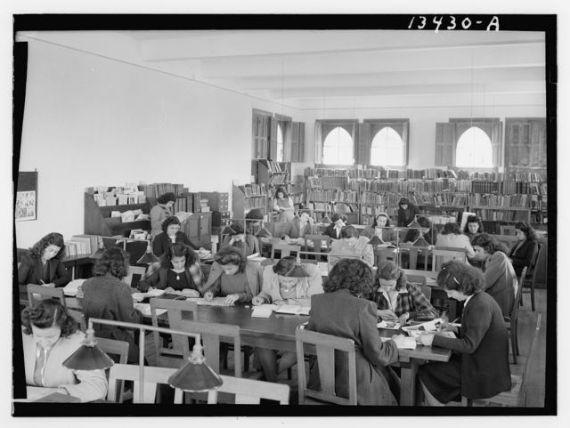 Beirut, Junior Girls' College, library