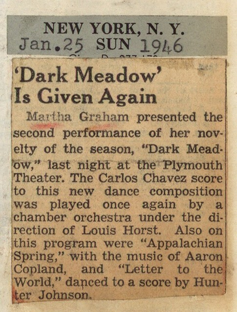 """"""" Dark Meadow"""" is Given Again"""