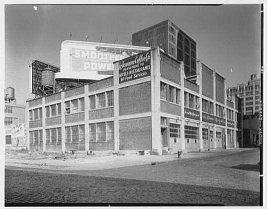 La Touraine Coffee Co., 639 W. 46th St., New York City. Exterior II