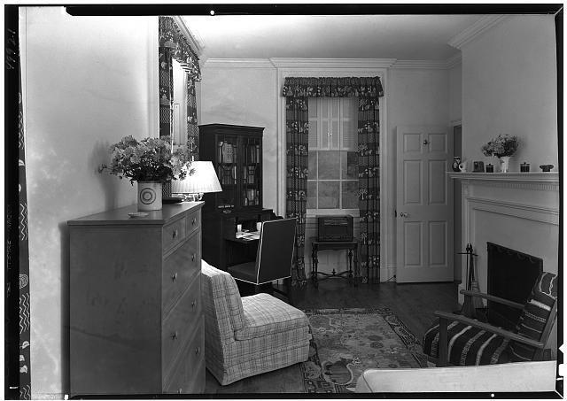 Paul Mellon, residence in Upperville, Virginia. Nurse's room