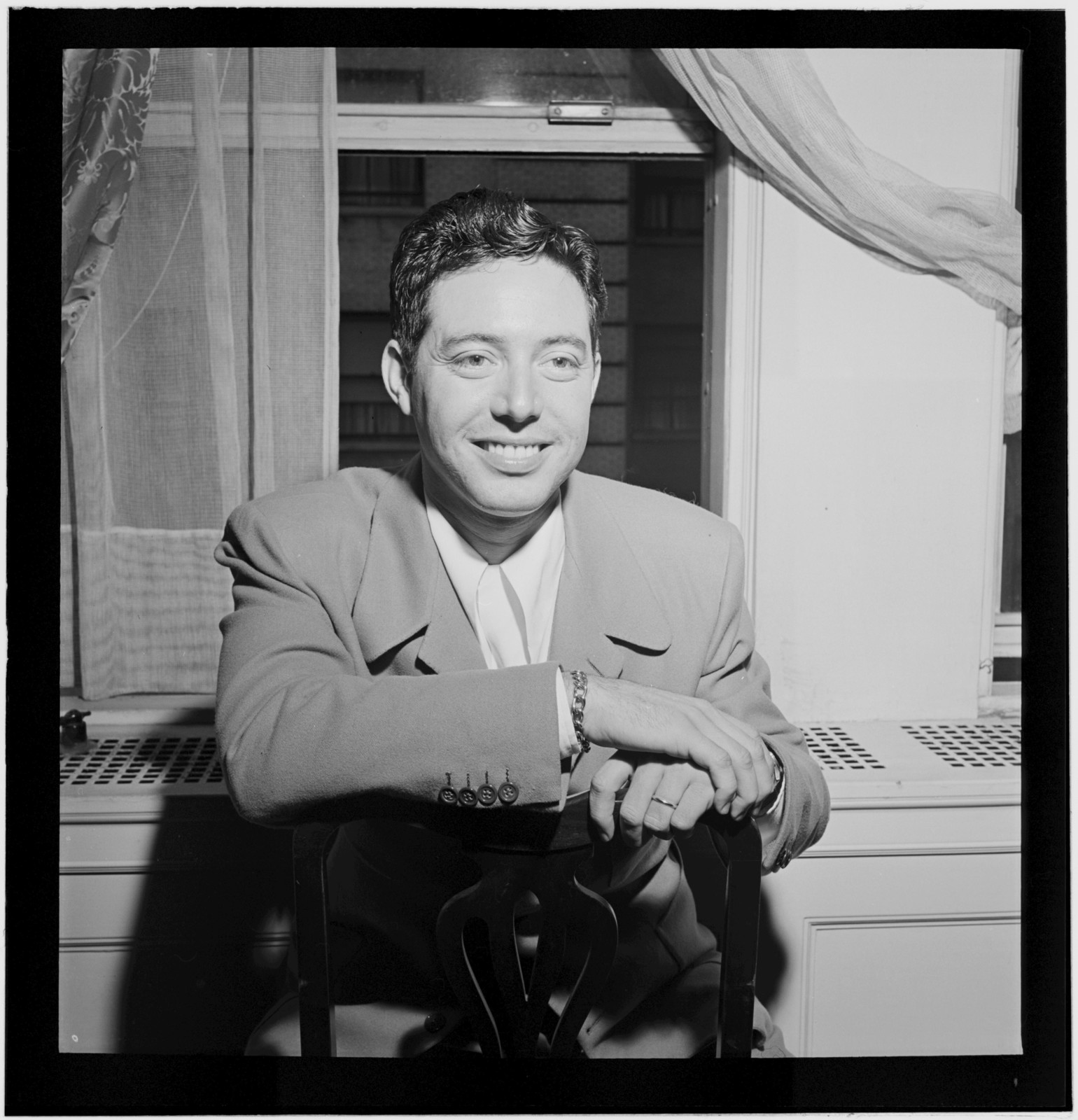 [Portrait of Andy Russell, New York, N.Y.(?), ca. July 1946]