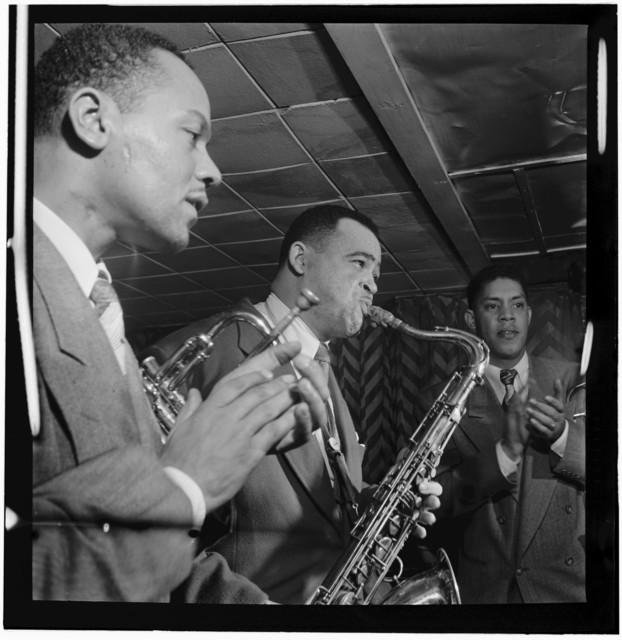 [Portrait of Arnett Cobb, Downbeat, New York, N.Y., between 1946 and 1948]