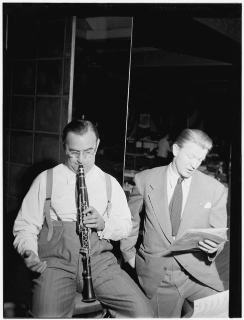 [Portrait of Benny Goodman, 400 Restaurant, New York, N.Y., ca. July 1946]