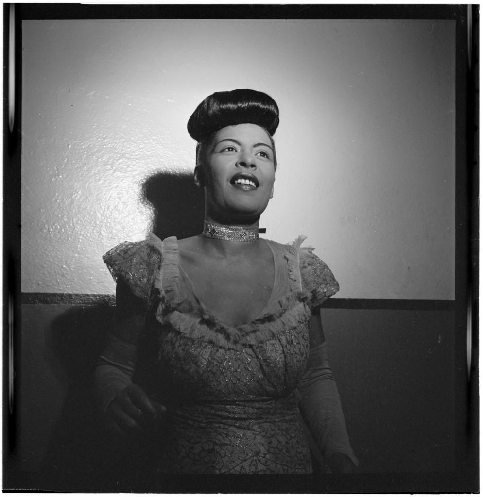 [Portrait of Billie Holiday, Carnegie Hall, New York, N.Y., between 1946 and 1948]