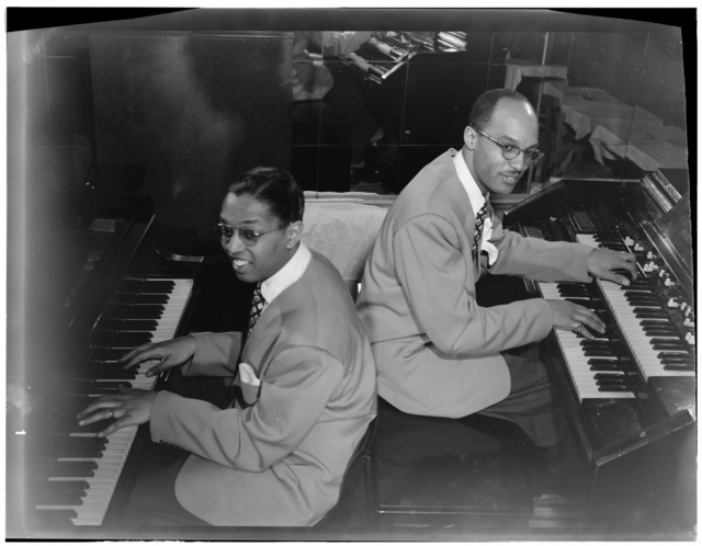 [Portrait of Billy Taylor and Bob Wyatt, New York, N.Y., between 1946 and 1948]
