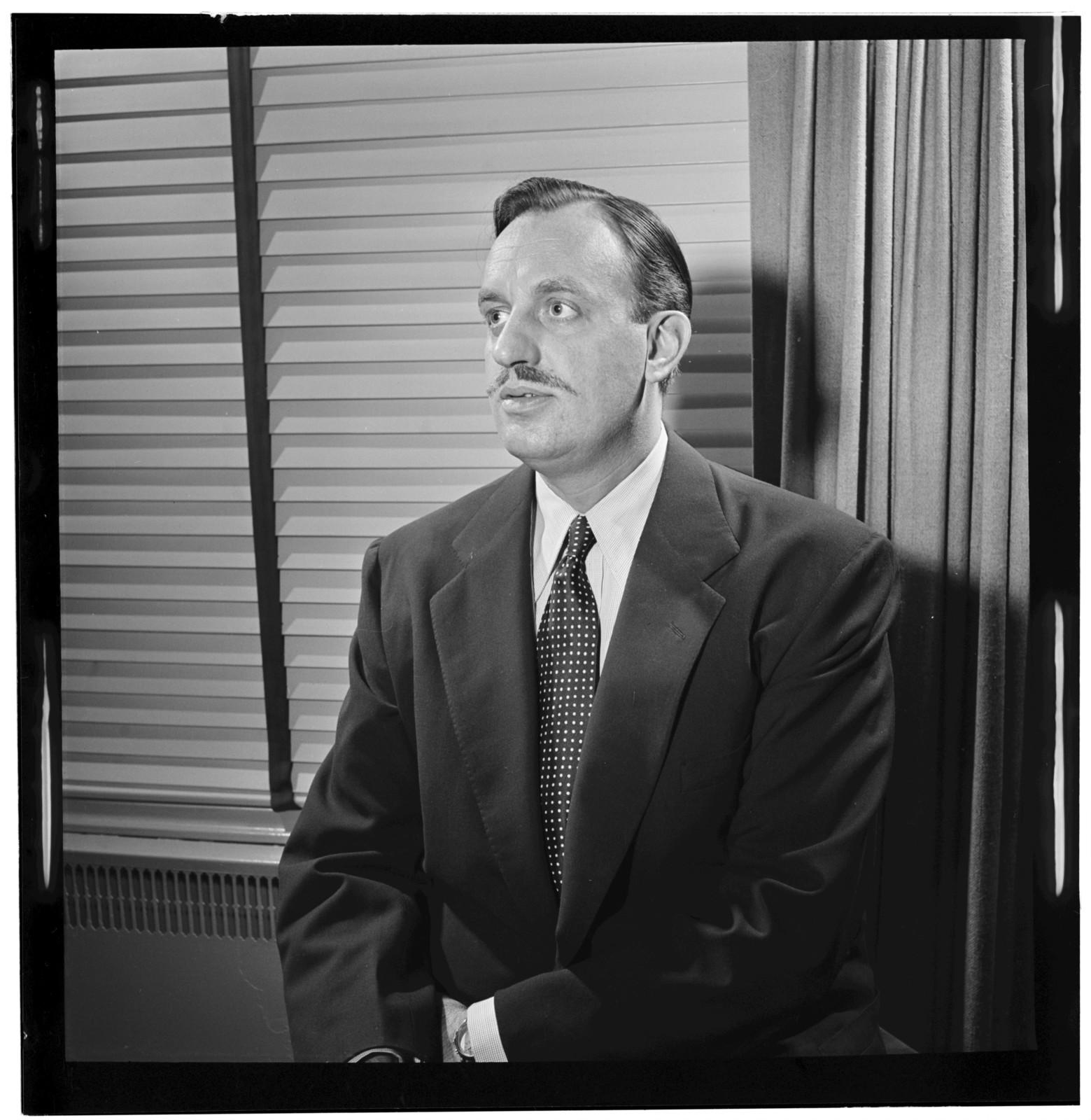 [Portrait of Brick Fleagle, New York, N.Y., between 1946 and 1948]
