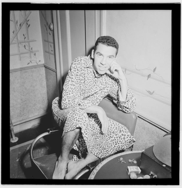 [Portrait of Buddy Rich, Strand(?), New York, N.Y., ca. Aug. 1946]
