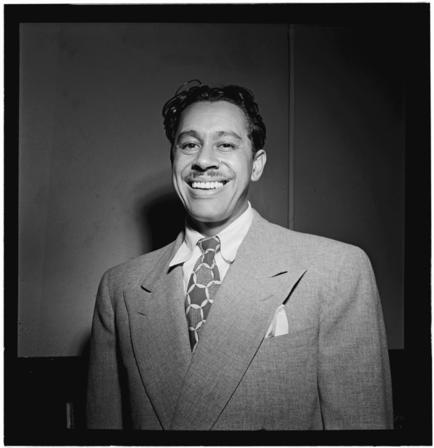 [Portrait of Cab Calloway, New York, N.Y.(?), ca. Oct. 1946]