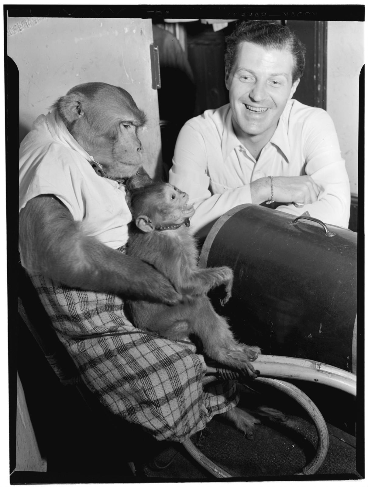 [Portrait of Charlie Barnet and Re-Bop, New York, N.Y., ca. Aug. 1946]