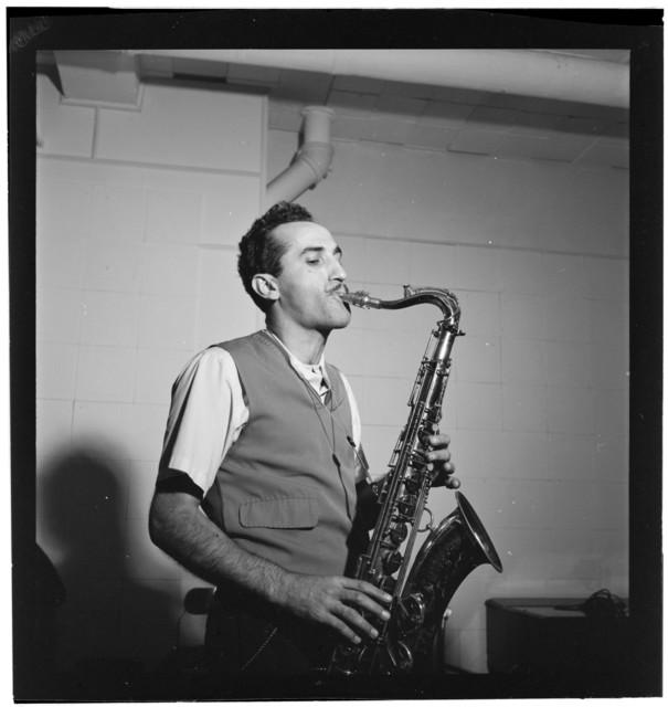 [Portrait of Charlie Ventura, National studio, New York, N.Y., ca. Oct. 1946]