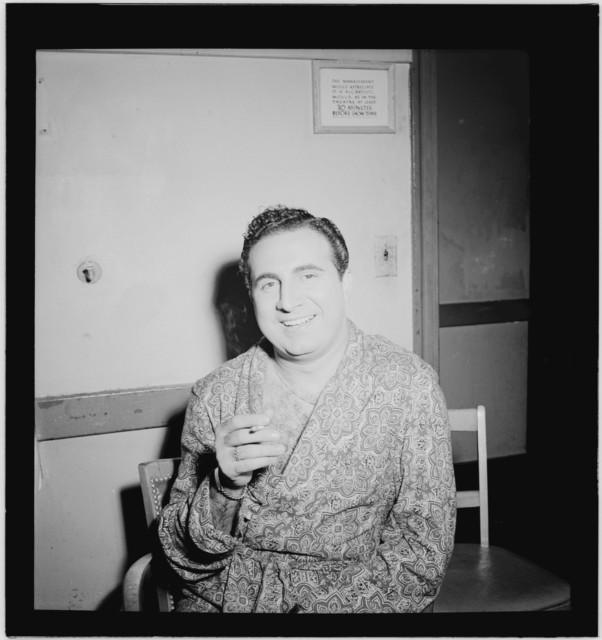 [Portrait of Dick Stabile, New York, N.Y.(?), ca. Aug. 1946]