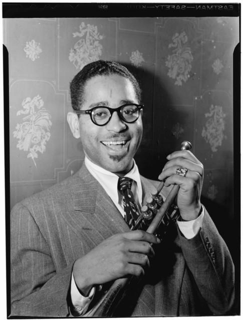 [Portrait of Dizzy Gillespie, Famous Door, New York, N.Y., ca. June 1946]