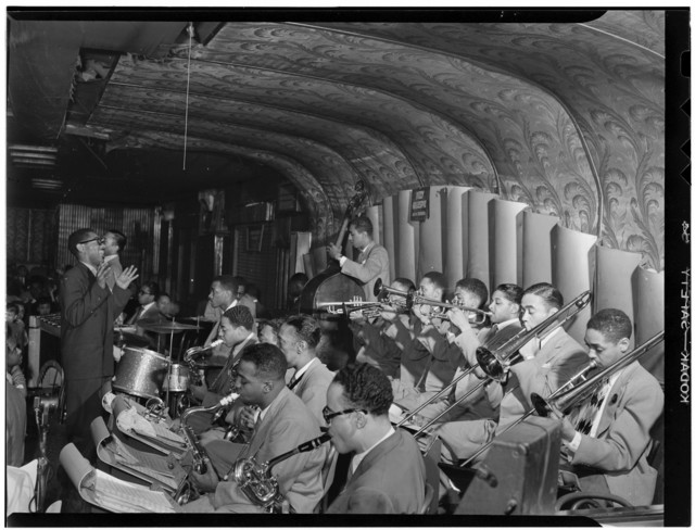 [Portrait of Dizzy Gillespie, New York, N.Y., between 1946 and 1948]