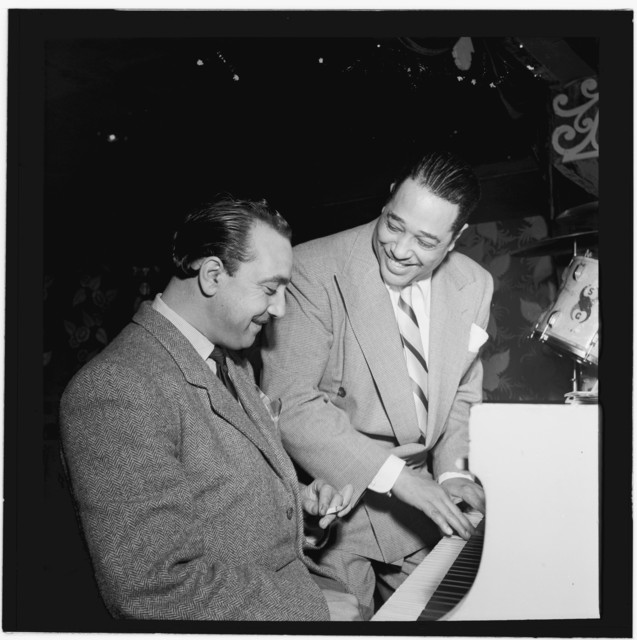 [Portrait of Django Reinhardt and Duke Ellington, Aquarium, New York, N.Y., ca. Nov. 1946]