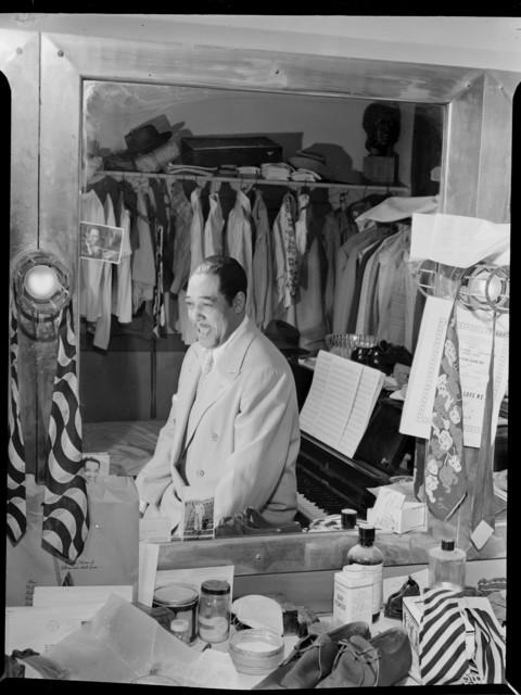 [Portrait of Duke Ellington, Paramount Theater, New York, N.Y., ca. Sept. 1946]