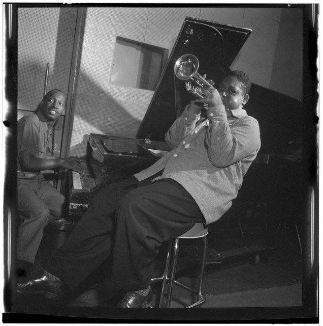 [Portrait of Fats Navarro and Tadd Dameron, New York, N.Y., between 1946 and 1948]