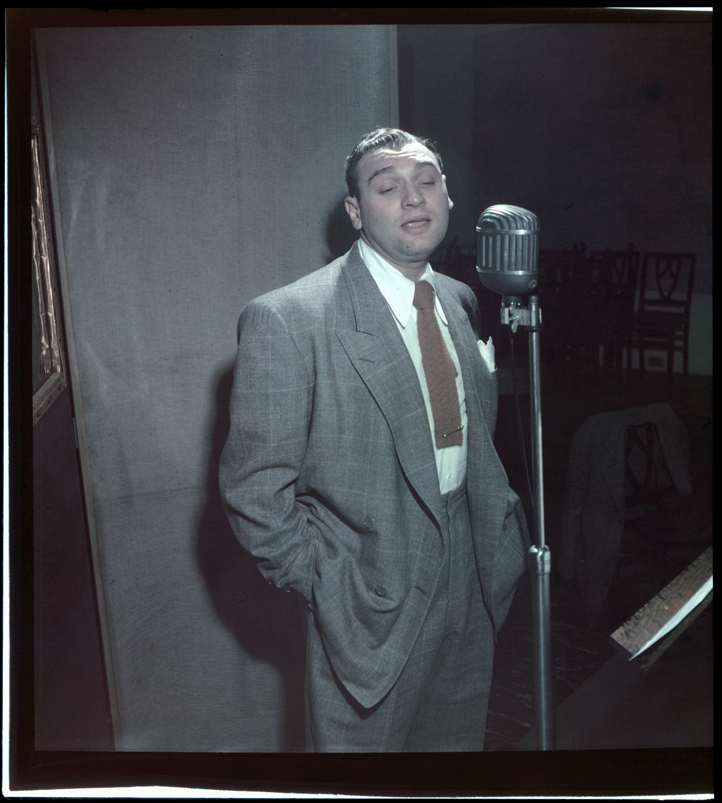 [Portrait of Frankie Laine, New York, N.Y., between 1946 and 1948]