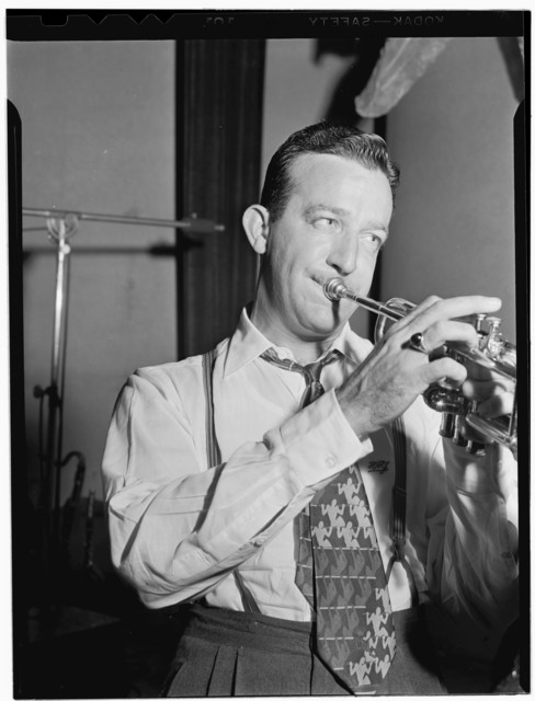 [Portrait of Harry James, Coca Cola radio show rehearsal, New York, N.Y., ca. Aug. 1946]