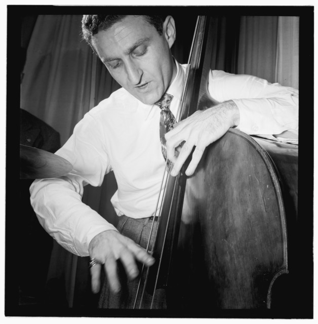[Portrait of Jack Lesberg, Eddie Condon's, New York, N.Y., ca. Sept. 1946]