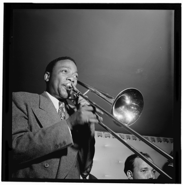 [Portrait of Jay Higginbotham, Jimmy Ryan's (Club), New York, N.Y., between 1946 and 1948]