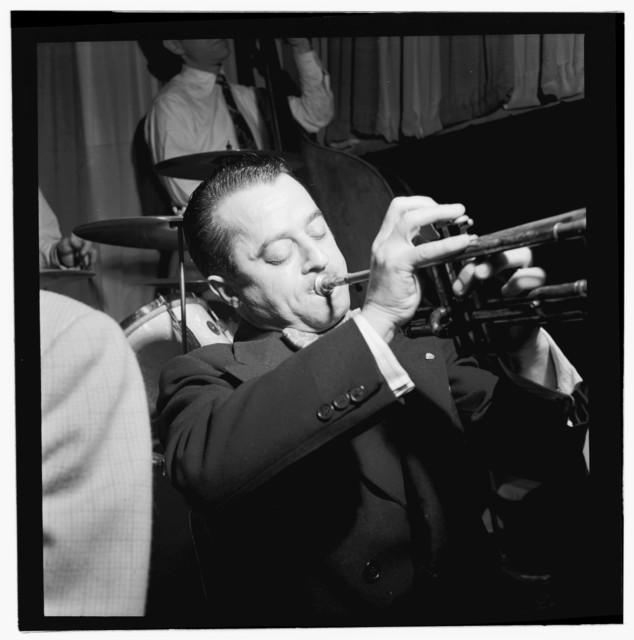 [Portrait of Max Kaminsky, Eddie Condon's, New York, N.Y., ca. Sept. 1946]