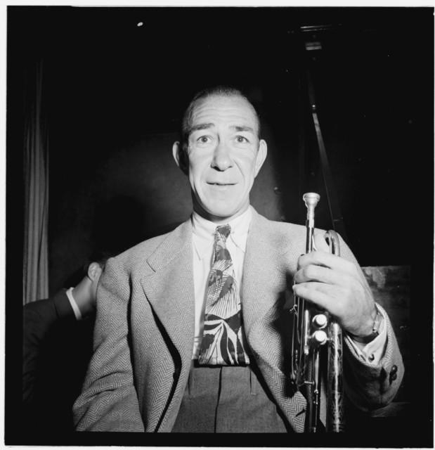 [Portrait of Muggsy Spanier, New York, N.Y.(?), ca. Sept. 1946]