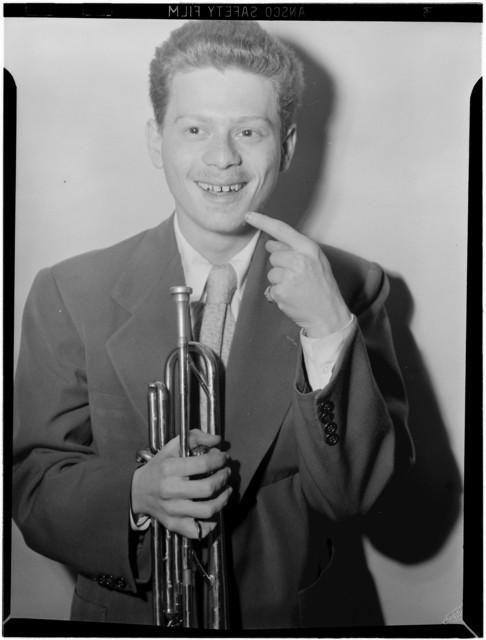 [Portrait of Red Rodney, 400 Restaurant(?), New York, N.Y., ca. June 1946]