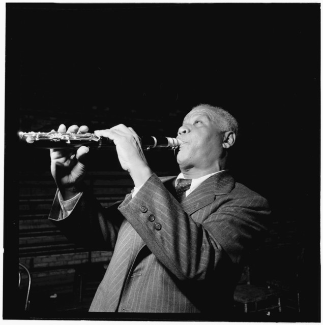 [Portrait of Sidney Bechet, New York, N.Y.(?), ca. Nov. 1946]