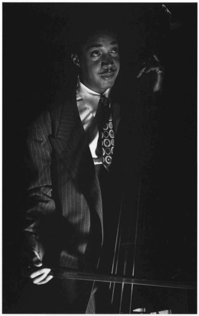 [Portrait of Slam Stewart, Three Deuces(?), New York, N.Y., ca. Sept. 1946]