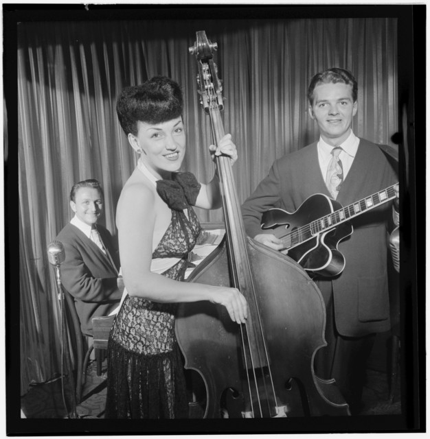 [Portrait of Teddy Kaye, Vivien Garry, and Arv(in) Charles Garrison, New York, N.Y., between 1946 and 1948]