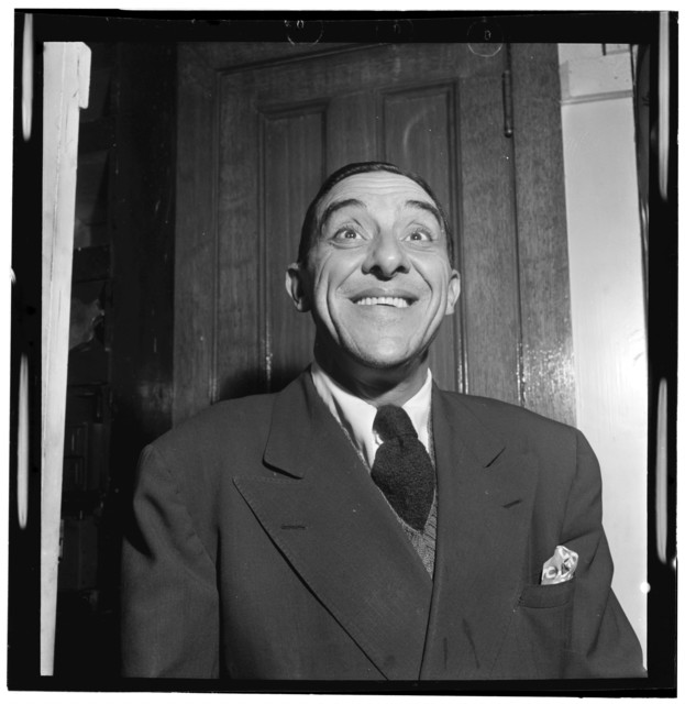 [Portrait of Wingy Manone, William P. Gottlieb's office, New York, N.Y., between 1946 and 1948]