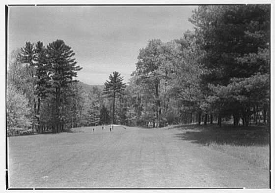 The Homestead, Hot Springs, Virginia. Ninth hole