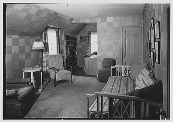 J.F. Goring, residence on Sherwood Rd., Greenwich, Connecticut. Son's room I