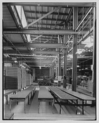 Mengel Company, Fulton, New York. Sheet work