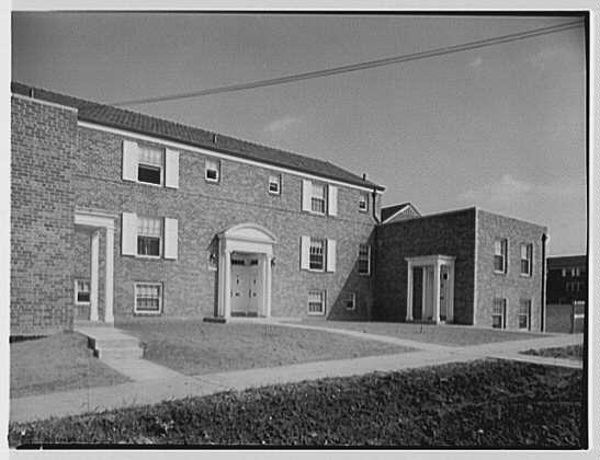 Parkway Village, Jamaica, New York. Exterior II