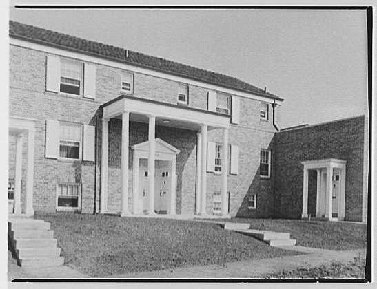 Parkway Village, Jamaica, New York. Exterior III