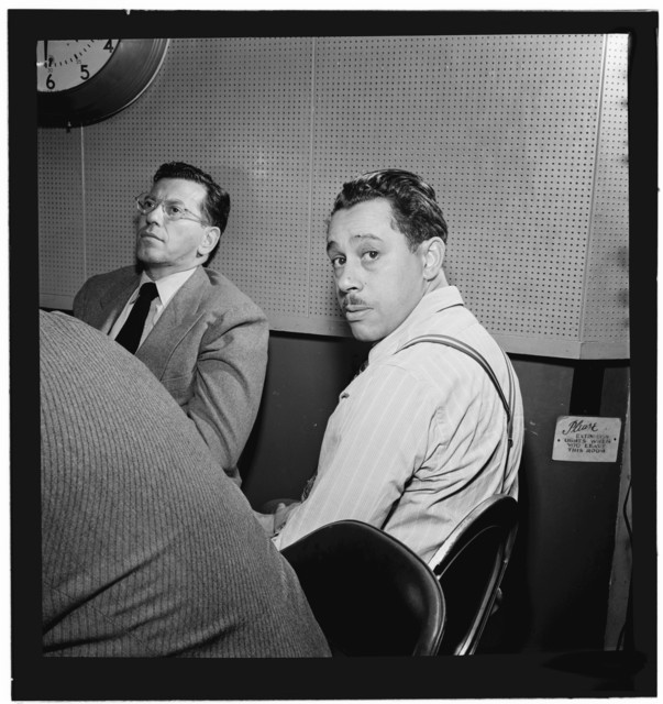 [Portrait of Cab Calloway, Columbia studio, New York, N.Y., ca. Mar. 1947]