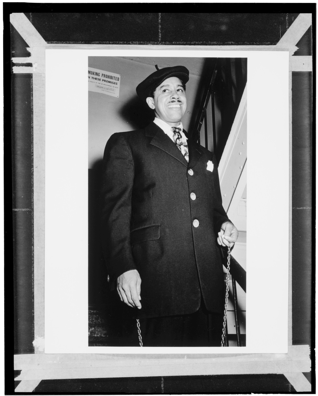 [Portrait of Cab Calloway, Strand Theater, New York, N.Y., ca. Mar. 1947]